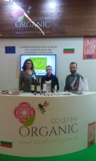 presenting TL wines at BioFach 2017, Nurnberg, Germany